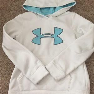 White under armour sweatshirt